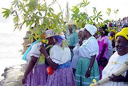 Garifuna women